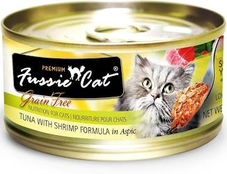 Fussie Cat Tuna w/Shrimp Canned Cat Food, - NJ Pet Supply