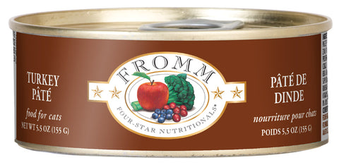 Fromm 4-Star Turkey Pate Canned Cat Food - NJ Pet Supply