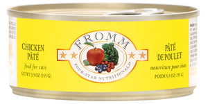 Fromm 4-Star Chicken Pate Canned Cat Food - NJ Pet Supply
