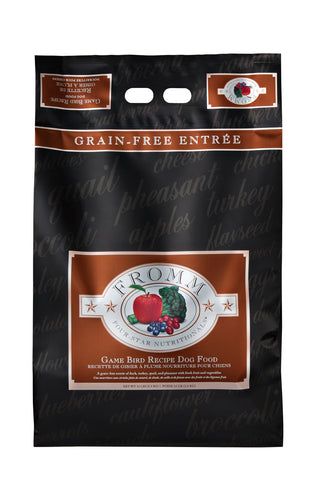 Fromm 4-Star Grain Free Game Bird Recipe Dry Dog Food 4-lb at NJPetSupply.com
