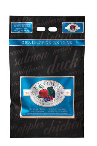 Fromm 4-Star Surf & Turf Dry Dog Food 4-lb at NJPetSupply.com