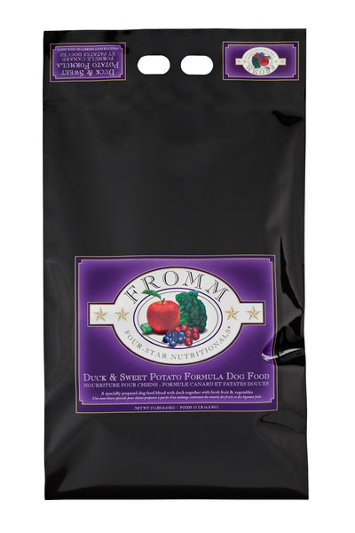 Fromm 4-Star Duck A la Veg Dry Dog Food 5-lb at NJPetSupply.com