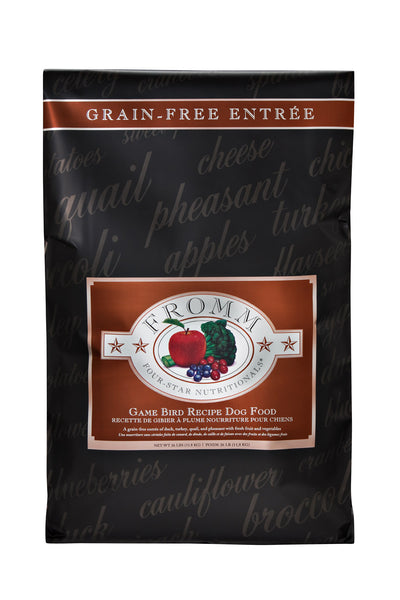 Fromm 4-Star Grain Free Game Bird Recipe Dry Dog Food 12-lb at NJPetSupply.com