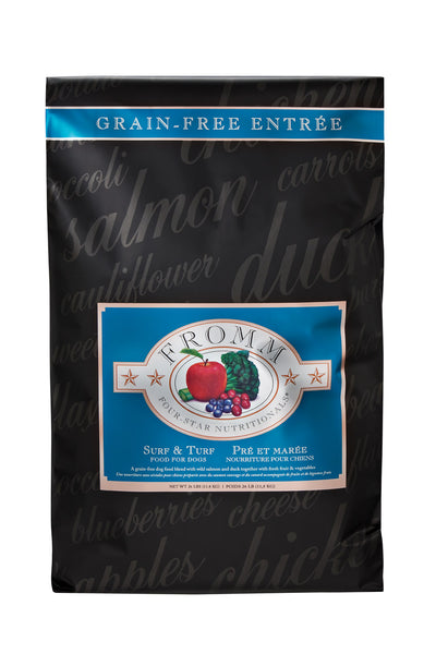Fromm 4-Star Surf & Turf Dry Dog Food 12-lb at NJPetSupply.com