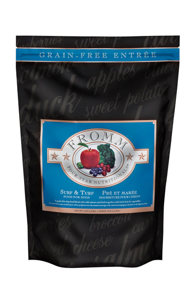 Fromm 4-Star Surf & Turf Dry Dog Food 26-lb at NJPetSupply.com
