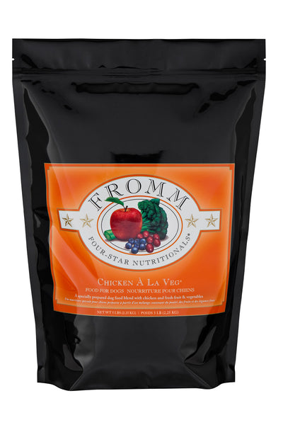 Fromm 4-Star Chicken A La Veg Dry Dog Food - NJ Pet Supply