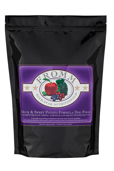 Fromm 4-Star Duck & Sweet Potato Dry Dog Food - NJ Pet Supply