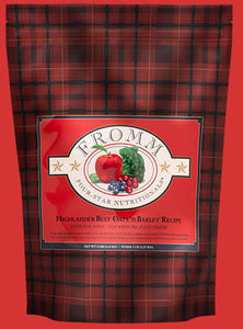 Fromm 4-Star Highlander Beef, Oats, 'n Barley Dry Dog Food 5-lb at NJPetSupply.com