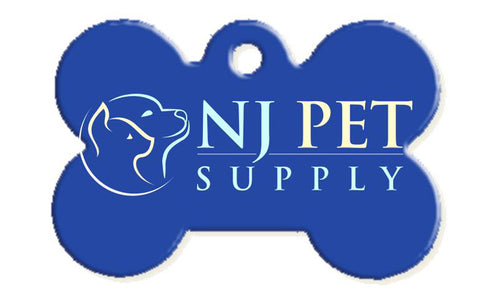 Custom NJPetSupply Pet ID Tag - Bone Shape - NJ Pet Supply