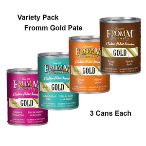 Fromm Gold Canned Dog Food, Variety Pack #1