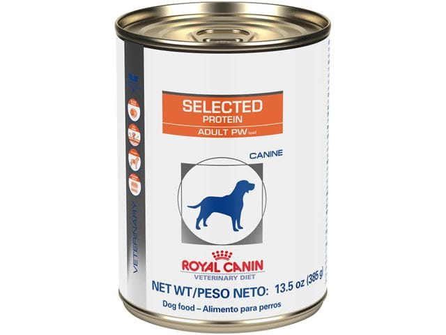 Royal Canin Veterinary Diet Canine Selected Protein Adult PW Loaf Wet Dog Food at NJPetSupply.com