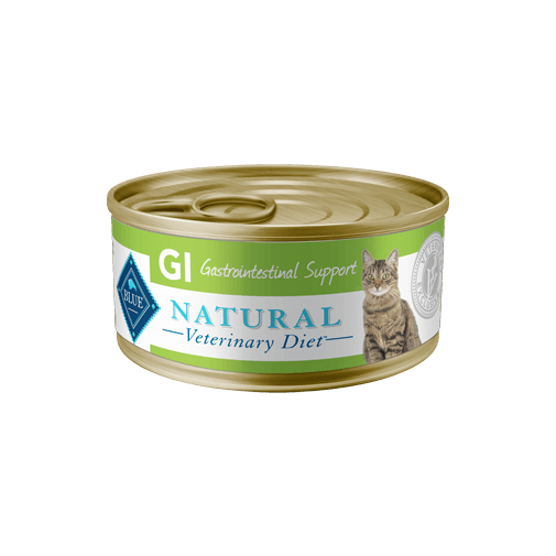 BLUE Natural Veterinary Diet GI Gastrointestinal Support Wet Cat Food - NJ Pet Supply