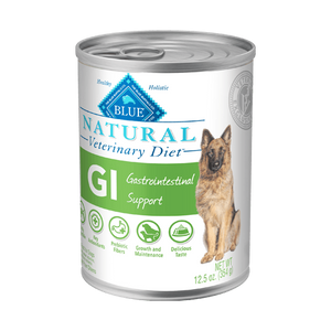 BLUE Natural Veterinary Diet GI Gastrointestinal Support Wet Dog Food at NJPetSupply.com