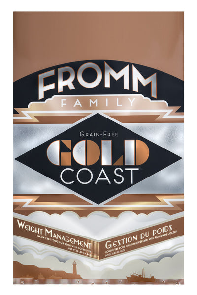 Fromm Gold Coast Grain-Free Weight Management Dry Dog Food 4-lb at NJPetSupply.com