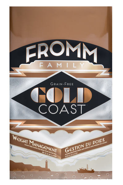 Fromm Gold Coast Grain-Free Weight Management Dry Dog Food 12-lb at NJPetSupply.com