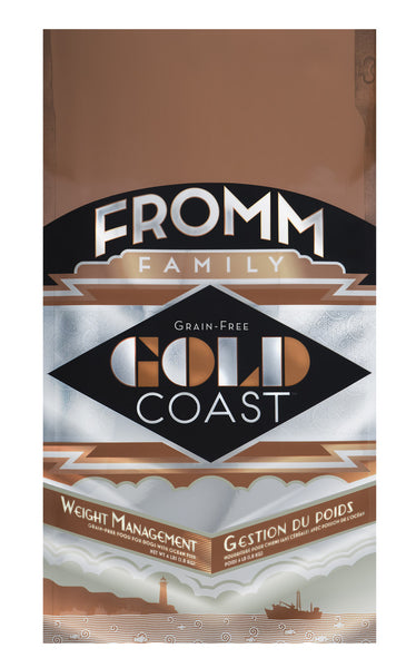 Fromm Gold Coast Grain-Free Weight Management Dry Dog Food 26-lb at NJPetSupply.com