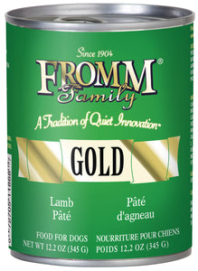 Fromm Gold Lamb Pate Canned Wet Dog Food at NJPetSupply.com