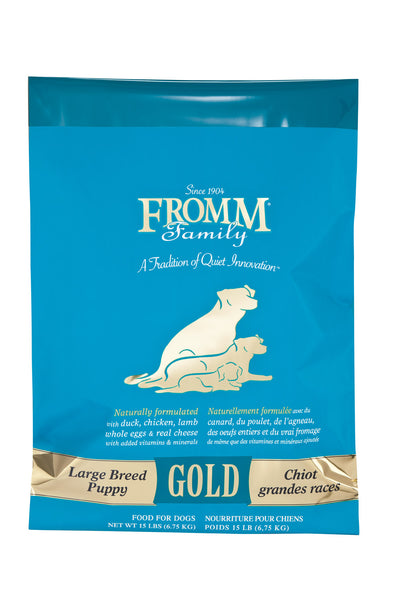 Fromm Gold Large Breed Puppy Dry Dog Food - NJ Pet Supply