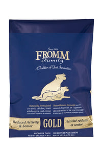 Fromm Gold Reduced Activity/Senior Dry Dog Food 5-lb at NJPetSupply.com