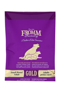Fromm Gold Small Breed Adult Dry Dog Food 5-lb at NJPetSupply.com