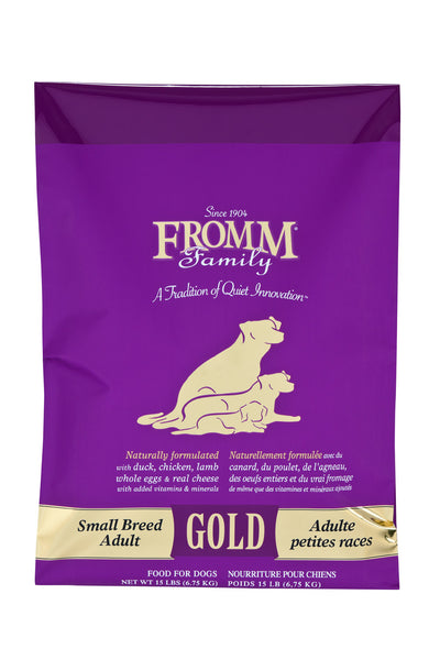 Fromm Gold Small Breed Adult Dry Dog Food - NJ Pet Supply