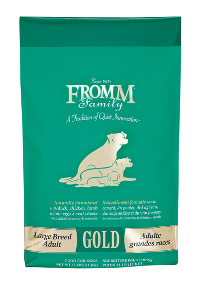 Fromm Gold Large Breed Adult Dry Dog Food 15-lb at NJPetSupply.com