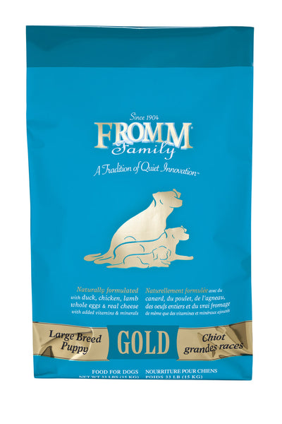 Fromm Gold Large Breed Puppy Dry Dog Food 15-lb at NJPetSupply.com