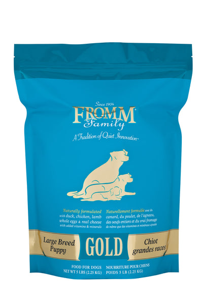 Fromm Gold Large Breed Puppy Dry Dog Food 33-lb at NJPetSupply.com