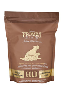 Fromm Gold Weight Management Dry Dog Food 33-lb at NJPetSupply.com