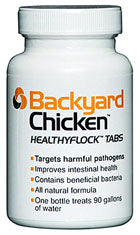 Backyard Chicken Healthyflock Tabs at NJPetSupply.com