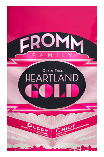 Fromm Heartland Gold Grain-Free Puppy Dry Dog Food 4-lb at NJPetSupply.com
