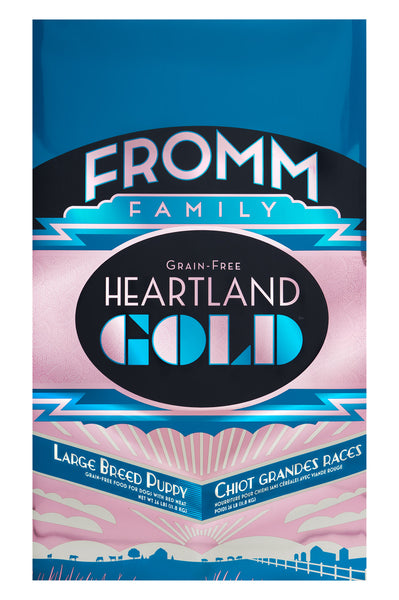 Fromm Heartland Gold Grain-Free Large Breed Puppy Dry Dog Food 12-lb at NJPetSupply.com