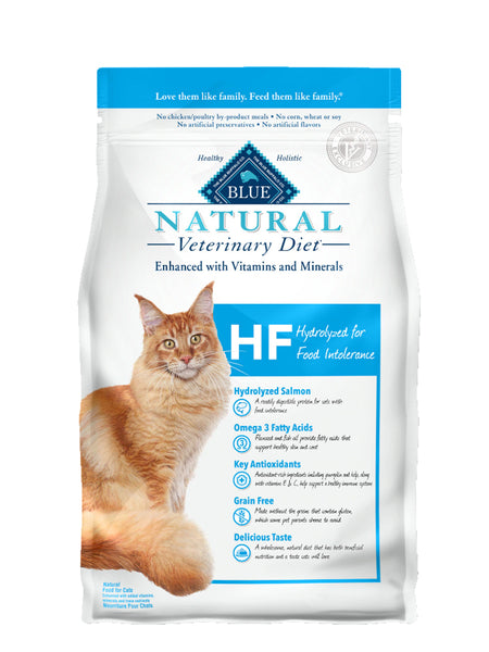 Blue Natural Veterinary Diet HF Hydrolyzed Dry Cat Food