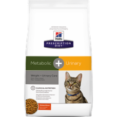 Hill's Prescription Diet Metabolic + Urinary Feline Chicken 10045