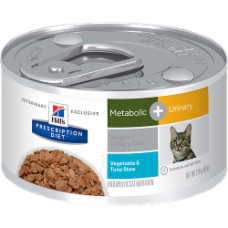 Hill's Prescription Diet Metabolic + Urinary Feline Vegetable & Tuna Stew 10083
