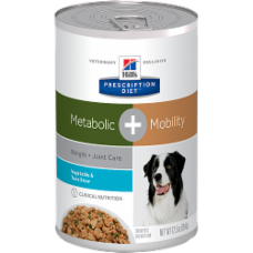 Hill's Prescription Diet Metabolic + Mobility Canine Vegetable & Tuna Stew 10086 at NJPetSupply.com
