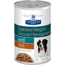 Hill's Prescription Diet w/d Canine Vegetable & Chicken Stew 10129 at NJPetSupply.com