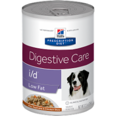 Hill's Prescription Diet i/d Canine Low Fat Rice, Vegetable, Chicken Stew 10423