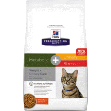 Hill's Prescription Diet Metabolic + Urinary Stress Feline Chicken 10554 at NJPetSupply.com