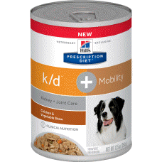 Hill's Prescription Diet k/d + Mobility Canine Chicken & Vegetable Stew 10853