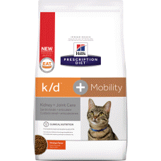 Hill's Prescription Diet k/d + Mobility Feline 10859 at NJPetSupply.com