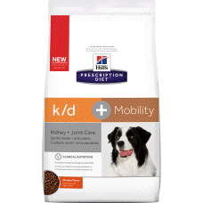 Hill's Prescription Diet k/d + Mobility Canine Chicken 10869