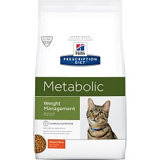 Hill's Prescription Diet Metabolic Feline Chicken 1955 at NJPetSupply.com