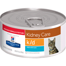 Hill's Prescription Diet k/d Feline with Tuna Pate 2698 at NJPetSupply.com