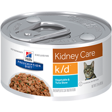 Hill's Prescription Diet k/d Feline Vegetable & Tuna Stew 3394