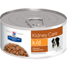 Hill's Prescription Diet k/d Canine Chicken & Vegetable Stew 3396 at NJPetSupply.com