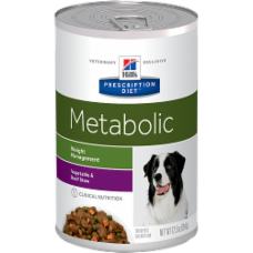 Hill's Prescription Diet Metabolic Canine Vegetable & Beef Stew 3399 at NJPetSupply.com