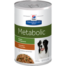 Hill's Prescription Diet Metabolic Canine Vegetable & Chicken Stew 3402 at NJPetSupply.com