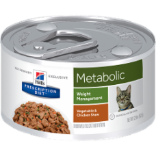 Hill's Prescription Diet Metabolic Feline Vegetable & Chicken Stew 3403 at NJPetSupply.com