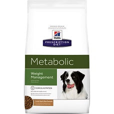 Hill's Prescription Diet Metabolic Canine Lamb Meal & Rice Formula 3755 at NJPetSupply.com